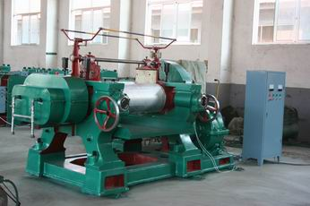 rubber two-roll mixing mill