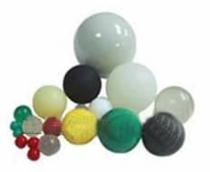 Rubber ball, Plastic ball