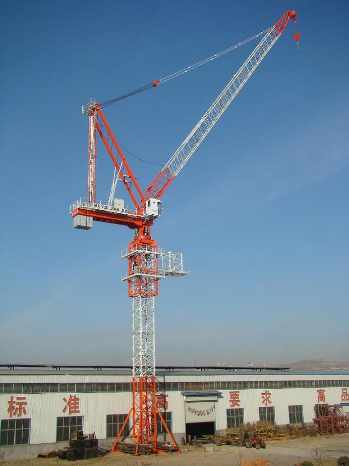 Large Construction Cranes : Luffing tower cranes