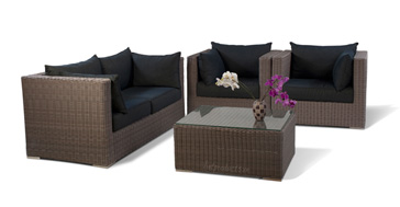 Poly Rattan Sofa Set ,resin wicker furniture, sofa set