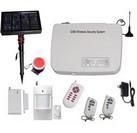 Solar GSM alarm