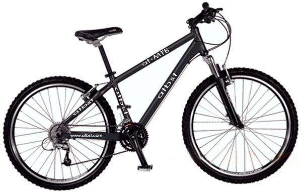 mountain bicycle road racing bicycle