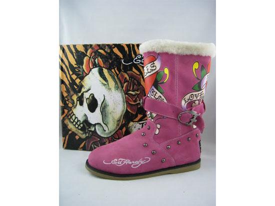 ED Hardy Women's Love Kills Slowly Snow Boots