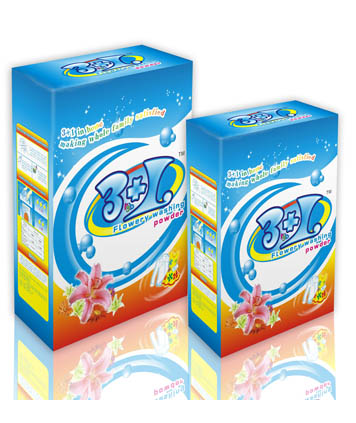 3+1 washing powder(Paper Box)