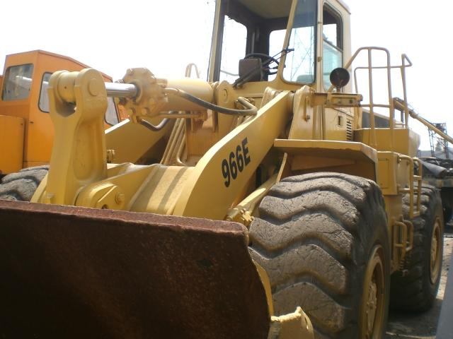 Caterpillar 966E wheel loader,used loader