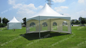 hot outdoor tension tent 4x4m
