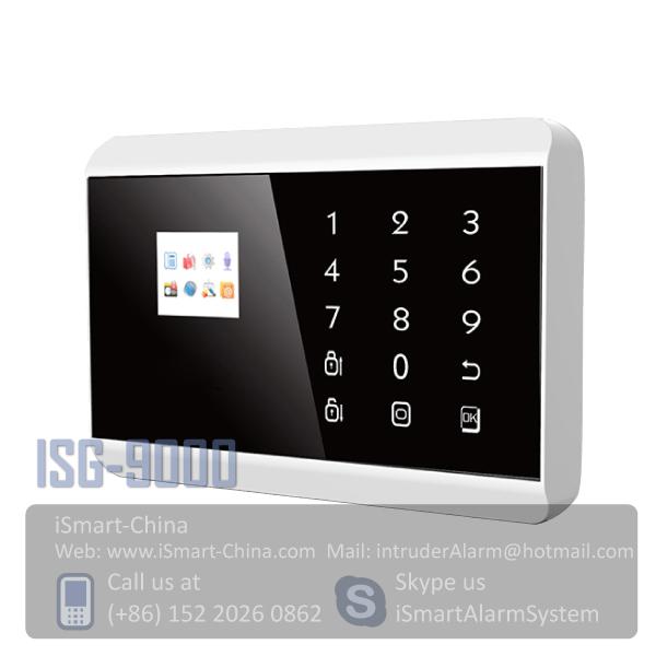 SMS Wireless intelligent burglar alarm system