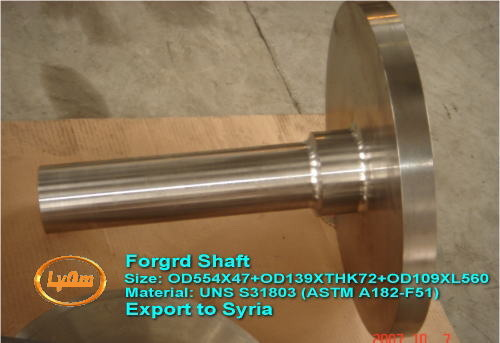 Forged shaft