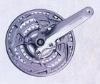 chainwheel and crank