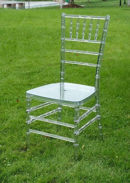 Clear Resin Chivari Chairs