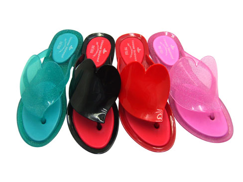 pvc lady's jelly slippers,slippers,jelly slippers