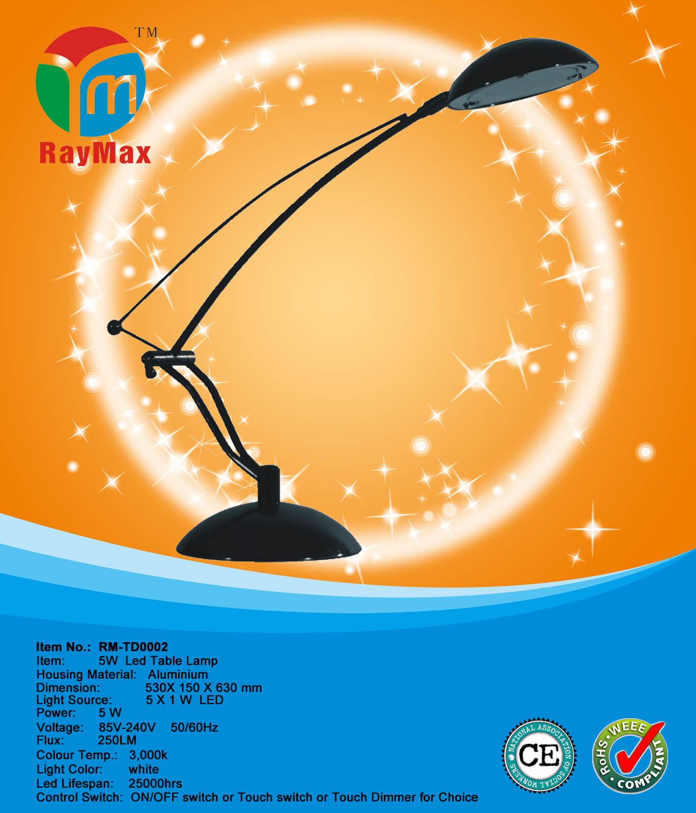 5W LED TABLE LAMP LIGHT