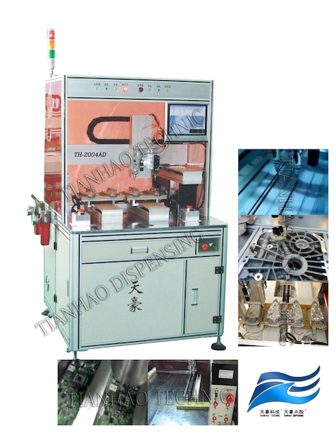 Sealant coating machine