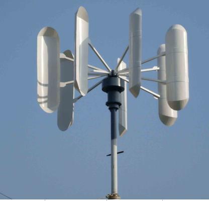 Energy Saving: Vertical axis wind turbine design project