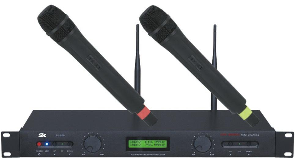 Wireless Microphone FU-806