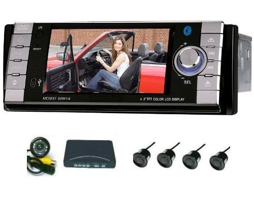 car multimedia player with gps parking system and camera. Black Bedroom Furniture Sets. Home Design Ideas