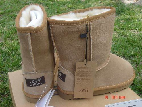 UGG Australia Jocelin Shearling Buckle Boot Chestnut