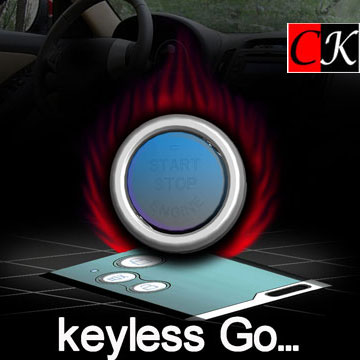 keyless go system with smartkey and engine start/off button