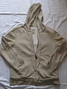 Mens' cotton knit jacket