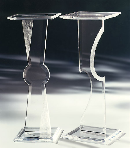 High Quality Acrylic/perspex/plexiglass/lucite Pedestals/table Display