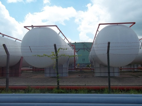 Propane Gas Storage Tanks