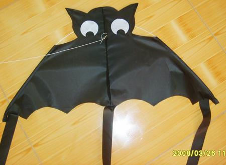 beautiful promotional bats kite