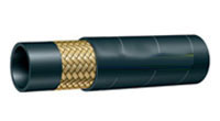 STEEL WIRE BRAID HYDRAULIC HOSE SAE100 R1 AT