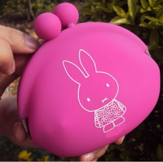 2011 Newest Fashion Silicone Wallet Coin Purse