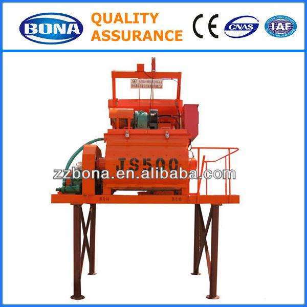 Unique quality JS500 concrete mixer