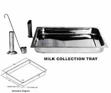 MILK COLLECTION TRAY