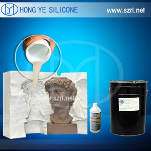 RTV molding silicone rubber for plaster products application