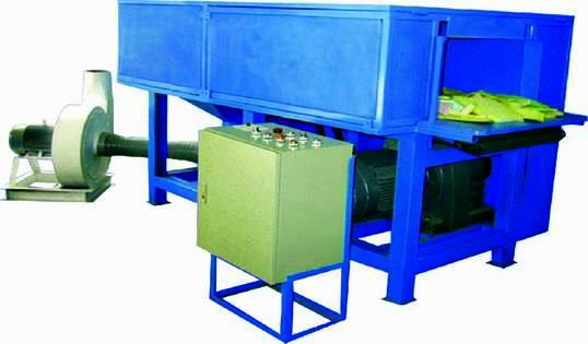 quilted fabric waste &foam cutting machine