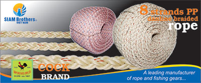 3,4,8 Strand PP/Polypropylene Rope