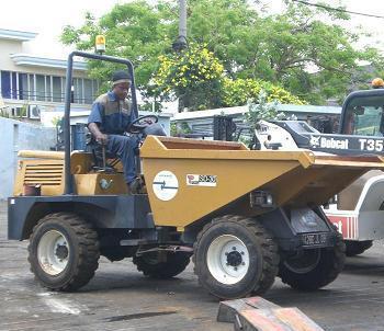 hydrualic dumper/tipper/tipcart/tip lorry/tipping car