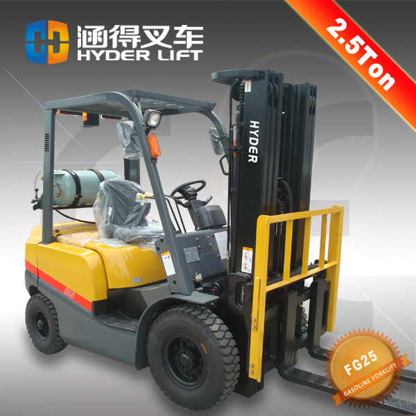 High Efficient 2.5Ton Gas/LPG Forklift With Nisan K21 Engine