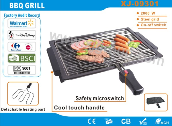 Indoor raclette party grill XJ-09301