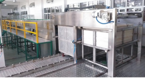 Automatic filled can cage Loading machine