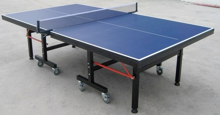 Folding Table Tennis As 205 Square Leg 4u0027u0027 Wheels Stonger