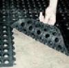 Wearable rubber sheet