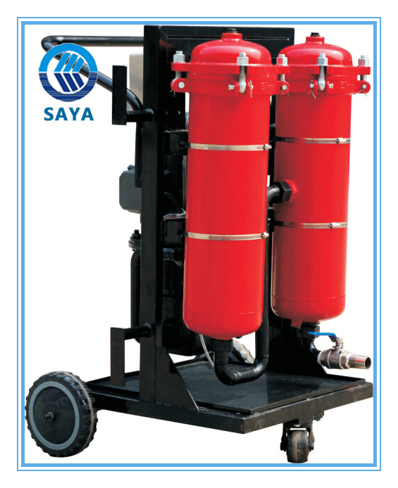 High efficiency transformer oil filtration unit LYC-50B