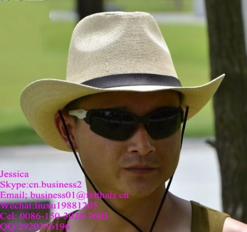 western cowboy straw hats for men in summer