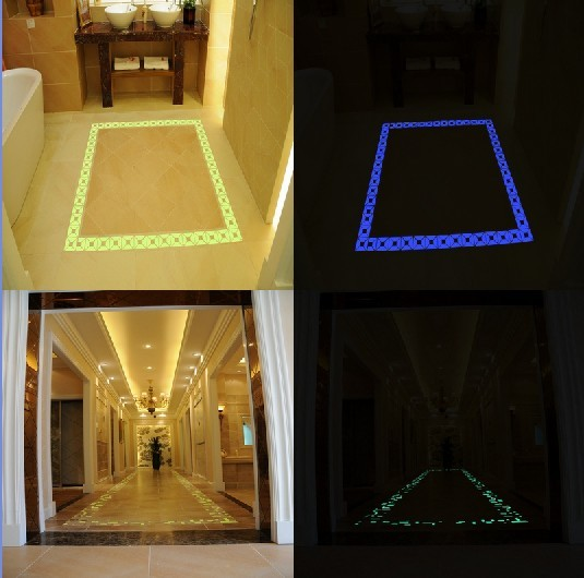 Photoluminescent Luminescent Luminous Tile Luminescent Tile