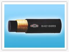 braided hydraulic hose (SAE 100R5)