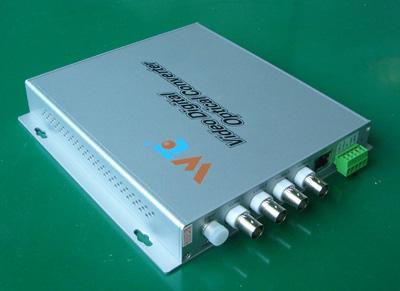 fiber optic video multiplexer