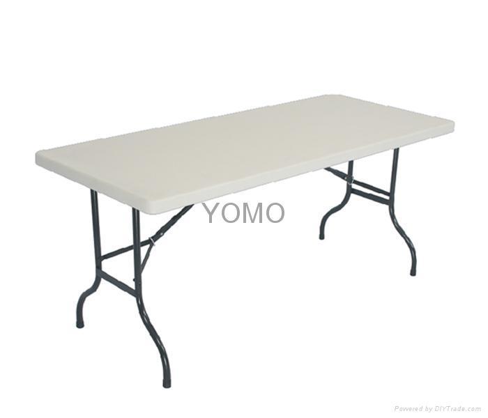 6ft Plastic Folding Table