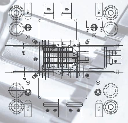 Structural Drawing Mould Structure Drawing