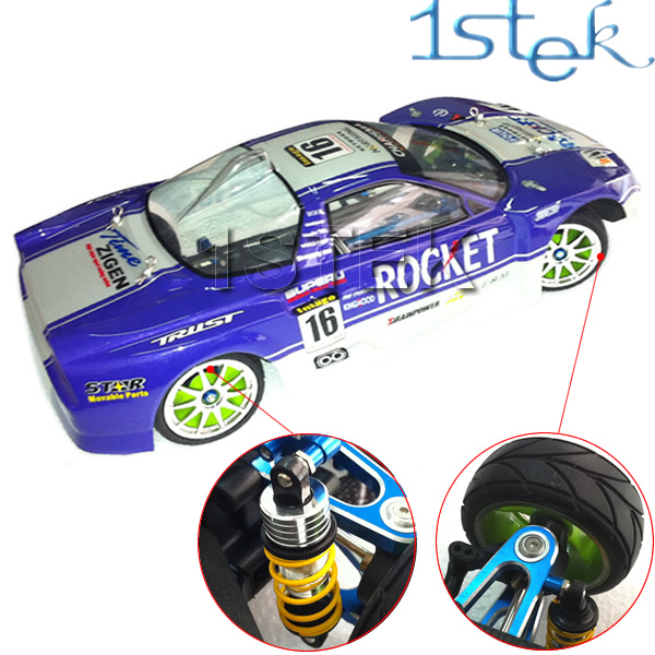 1:10 4WD Shaft Drive RC Car Kit For Tamiya TT01E