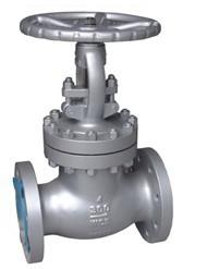 Carbon steel flanged RF RTJ globe valve class 150 300 600
