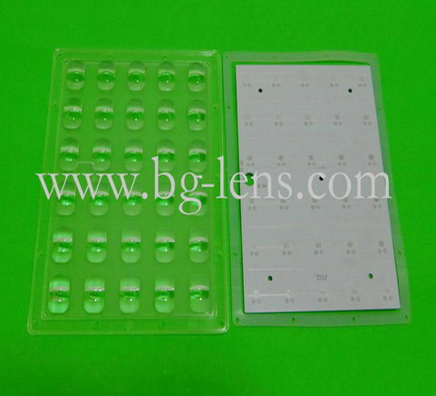 5X6 30W Cree XPE street light led lens with PCB