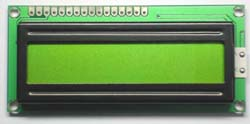 STN 16x1 Character Lcd Module, Cob, Led Backlight